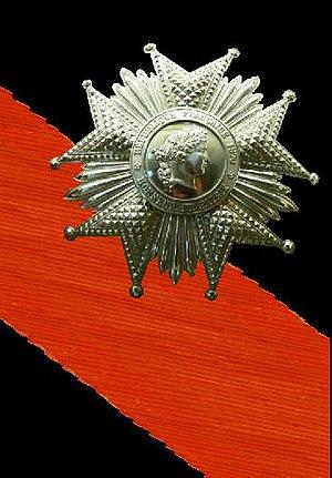 Józef Poniatowski - Grand Cross of Legion of Honour