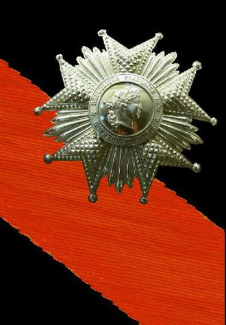 Józef Poniatowski - Grand Cross of Legion of Honour