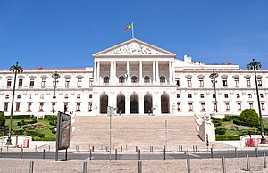 Law of Portugal - The seat of the Portuguese Legislature in Lisbon.