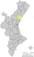 Localització d'Almenara respecte del País Valencià.png