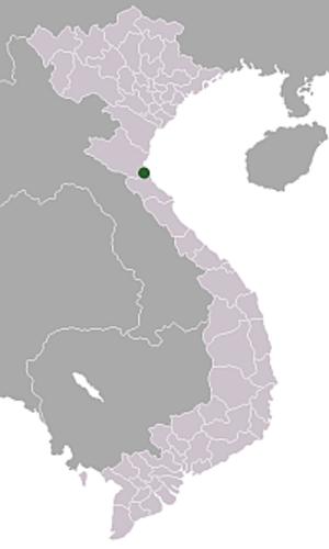 Vinh - Image: Location Vietnam Vinh