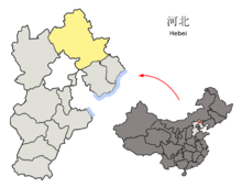 Location of Chengde Prefecture within Hebei (China).png