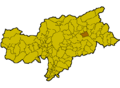 Location of St. Lorenzen (Italy).png