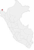Location of the city of Tumbes in Peru.png