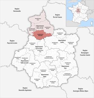Arrondissement of Châteaudun Arrondissement in Centre-Val de Loire, France