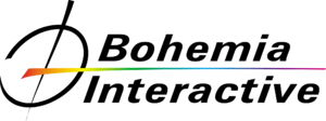 Bohemia Interactive - Image: Logo bohemia black