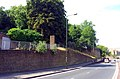 London-Woolwich, Woolwich Church St, church hill and belvedere.jpg