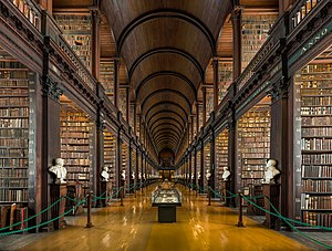 Trinity College Library - The Long Room in the Old Library