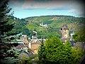 Lorchhausen – Blick zur Burg Stahleck - panoramio.jpg