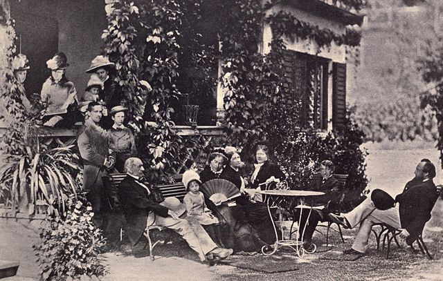 Lord Acton in a Group Portrait at Tegernsee., From WikimediaPhotos