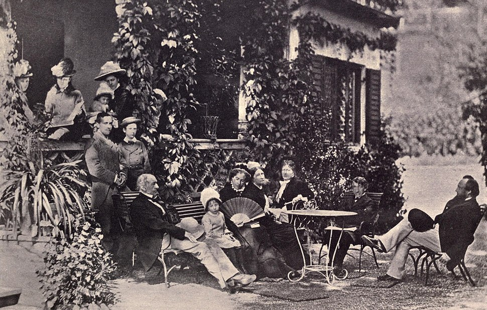 Lord Acton in a Group Portrait at Tegernsee