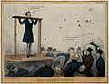 Lord Glenelg stands in the stocks and receives a hail of rub Wellcome V0050240.jpg