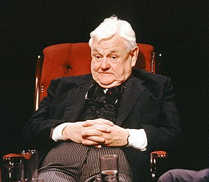 Quintin Hogg, Baron Hailsham of St Marylebone - Appearing on television discussion programme After Dark in 1988, more here