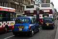 Lothian Buses buses on Princes Street, Edinburgh, 29 October 2005.jpg