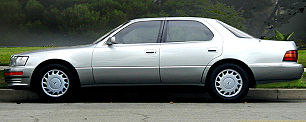 The first LS 400 flagship sedan debuted in 1989, introducing Lexus to the world.