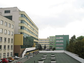 Maria Curie-Skłodowska University - Image: Lublin UMCS (wydział humanistyczny) i Akademia Rolnicza