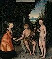 Lucas Cranach d.Ä. - Herkules am Scheideweg (Herzog Anton Ulrich-Museum).jpg