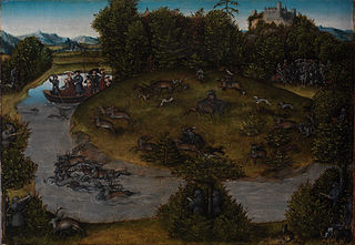 The Stag Hunt of the Elector Frederic the Wise (1463-1525) of Saxony