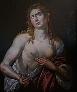 Hendrick de Clerck - Hendrick De Clerck, Lucretia, c. 1610. Private collection.