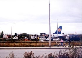 Lufthansa Flight 2904 crash site Siecinski.jpg