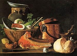 Luis Egidio Meléndez - Still Life circa 1770
