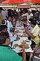 Lunching Bhaktas - Rawatpura Sarkar Ashram - Chitrakoot - Satna 2014-07-05 6440.JPG