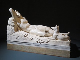 Endymion sleeping