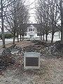 Luther Burnham Harris Campus memorial plaque Lyndon Institute Lyndon VT April 2019.jpg