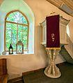 Lutheran church in Augstroze, Window 2.jpg