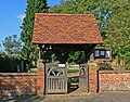Lych Gate, Catthorpe - geograph.org.uk - 594171.jpg