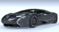 Lyons Motor Car, Streamliner Super Sport with exposed carbon finish..png