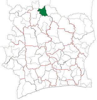 MBengué Department Department in Savanes, Ivory Coast