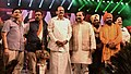 M. Venkaiah Naidu and the Minister of State for Culture and Tourism (Independent Charge), Dr. Mahesh Sharma, the Secretary, Ministry of Tourism.jpg