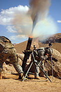 M120 Mortar in Zabol Province, Afghanistan