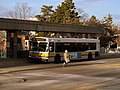 MBTA route 210 bus at North Quincy station, January 2016.JPG