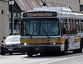 MBTA route 556 bus in Waltham, April 2017.JPG