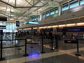 Midway International Airport - Southwest Airlines check-in ticket counters.