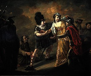 Loch Leven Castle - Mary, Queen of Scots Escaping from Loch Leven Castle (1805) by William Craig Shirreff