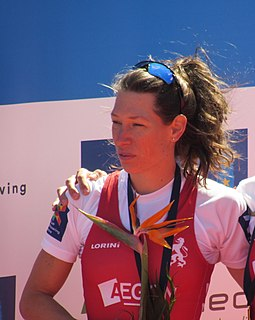 Maaike Head Dutch rower