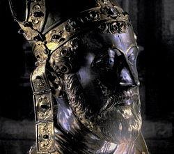Maastricht, Tesouro de São Servatius, busto relicário de Servatius2.jpg