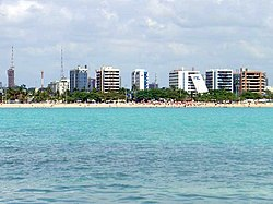 Pajuçara Beach in Maceió