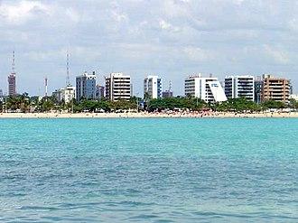 Maceió - Pajuçara beach.