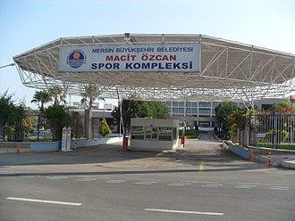 2013 Mediterranean Games - Image: Macit Özcan Sports Complex, Mersin, Turkey