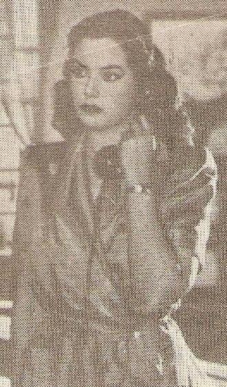 Madiha Yousri - Madiha Yousri, circa 1949.