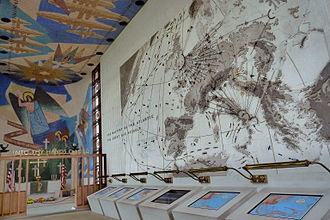 Madingley - Memorial chapel interior