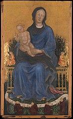 Vierge et l'Enfant avec des anges