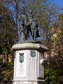 Madrid - Jardines de Isabel La Católica, Monumento a Isabel La Católica 2.JPG