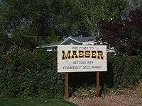 Maeser Utah welcome sign.jpeg