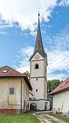 Magdalensberg St. Thomas Pfarrhof und Pfarrkirche hl. Thomas 04102019 7235.jpg
