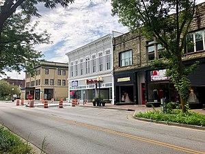 Main Street in Downtown Richmond